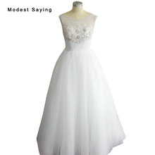 modest saying Ball Gown Wedding Dress 2018 Bridal Gowns