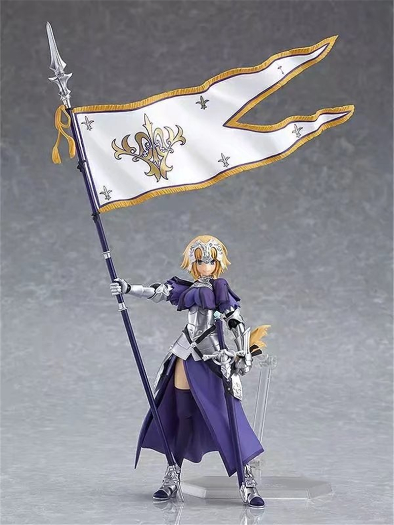 Anime Fate Grand Order Jeanne d'Arc Ruler Figma 366 PVC Action Figure Collection Model Kids Toys Doll 5.5 1