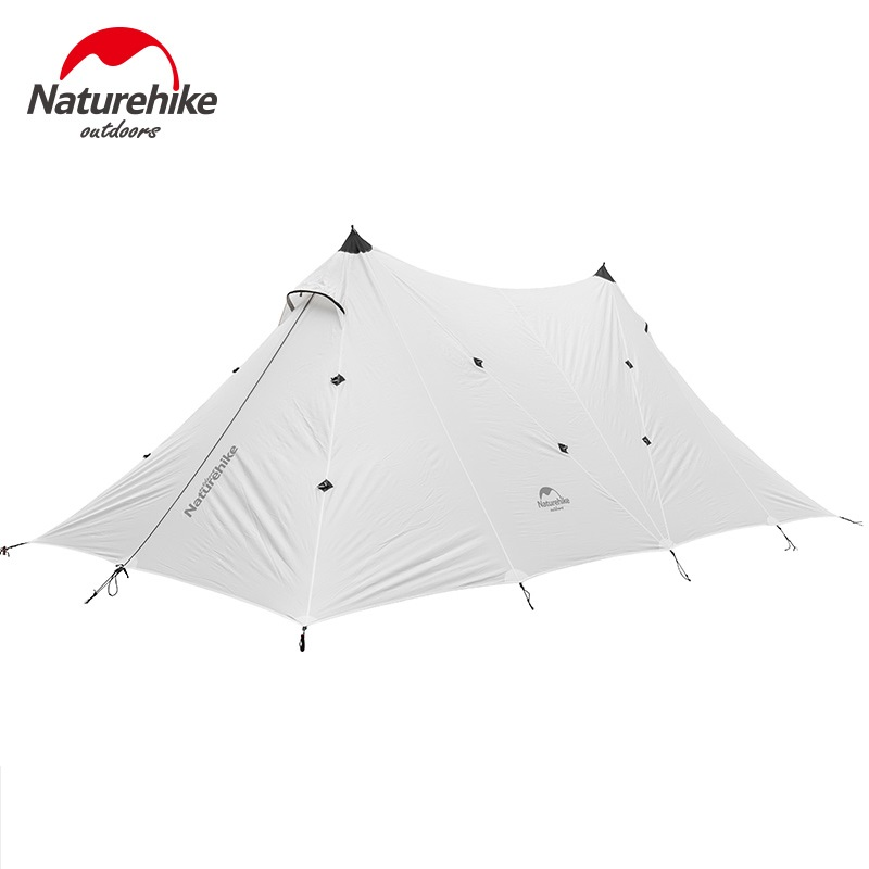 Naturehike 10 Person Large Camping Tent A Tower Tarp Outdoor Base Camp Tents