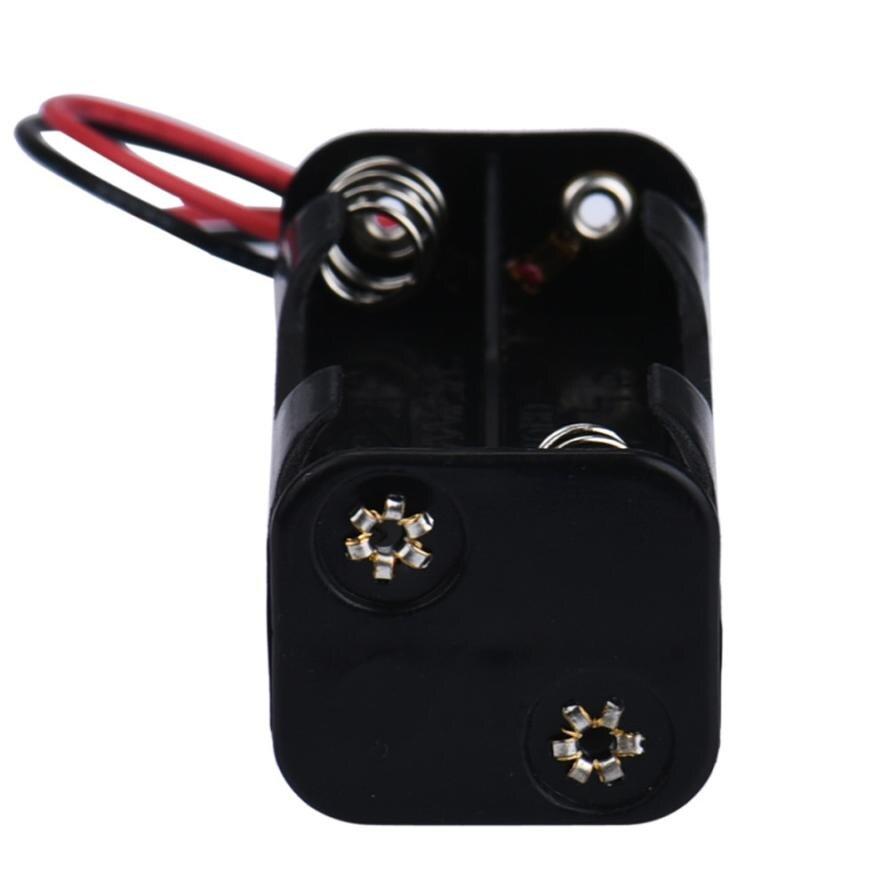 Hot 2-slot 4 x AAA Battery Back To Back Holder Case Box Storage With Wire Leads of 2017 JUL 27-9 hot new yokogawa s9129fa s9129 9129 2 4v 1100mah battery back up dcs