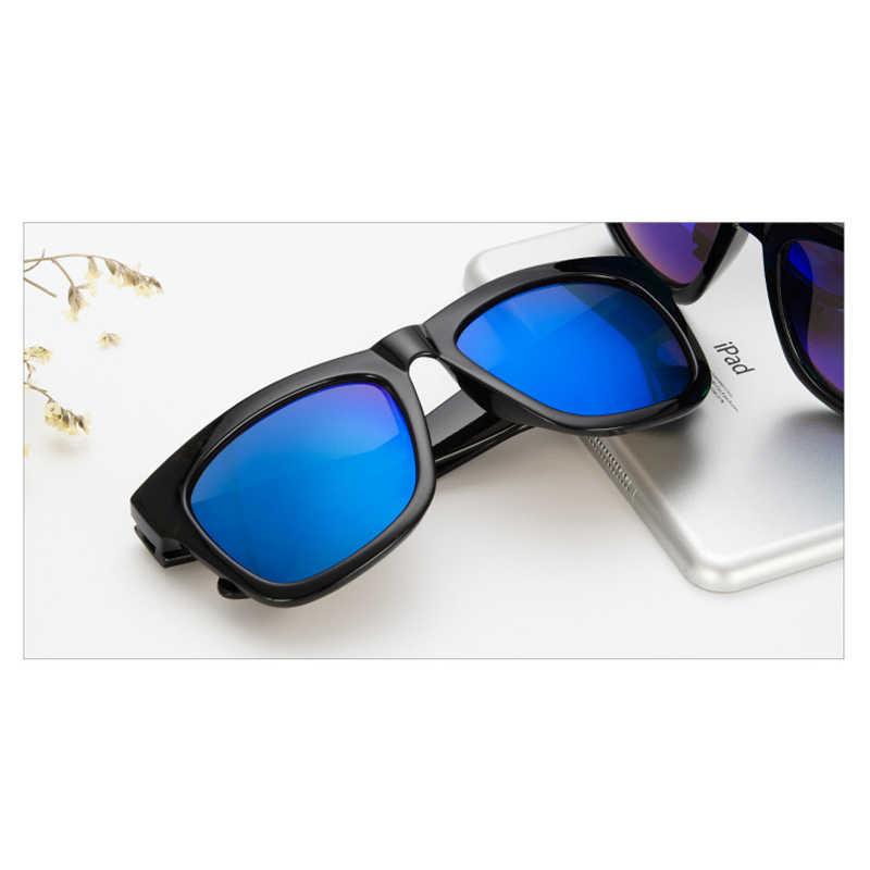 36364911ee ... -100 to -400 Myopia prescription sunglasses sauqre sun glasses blue  mirror eyewear sunglasses for
