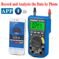 DC/AC Mobile APP Multifunction Intelligent Digital Multimeter Bluetooth Remote Internet+instrument Auto Range Measuring tools