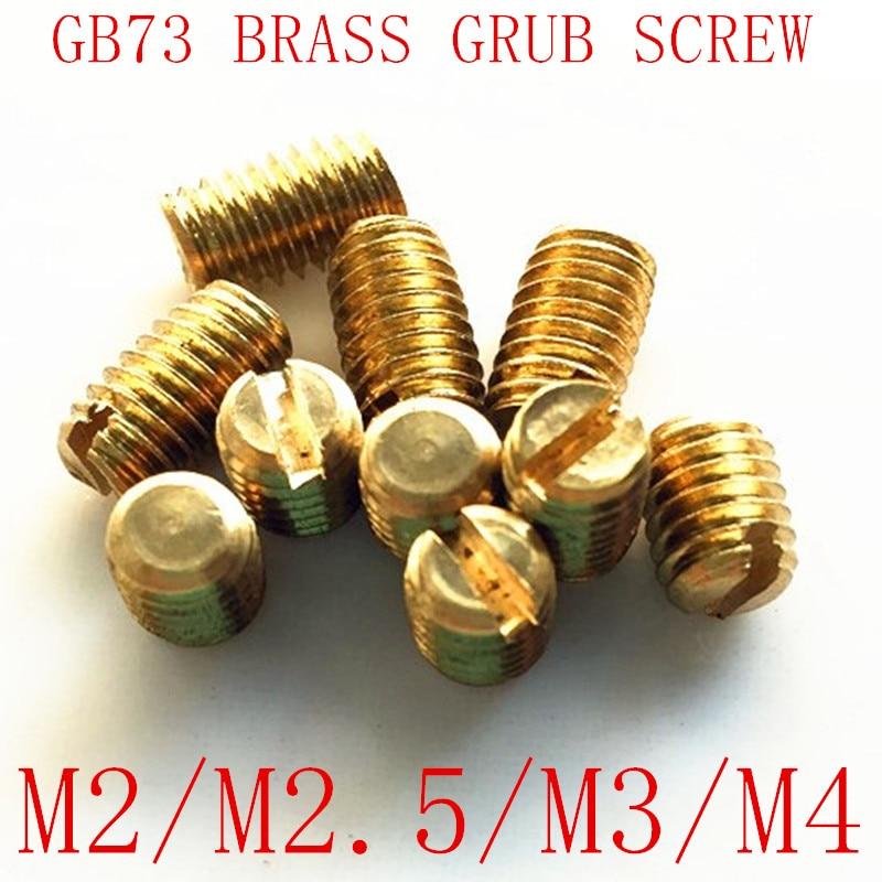 #10-32 Brass Slotted Aircraft Instrument Screws SNJ P-51 B-25 P-38 P-47 20