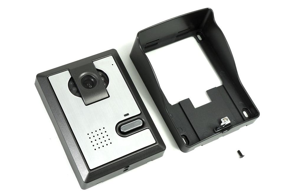 Купить с кэшбэком Freeshipping 7 Inch Video Doorbell Best CMOS TFT-LCD hd screen Wired Video Doorphone for villa with night vision 1V1 panel