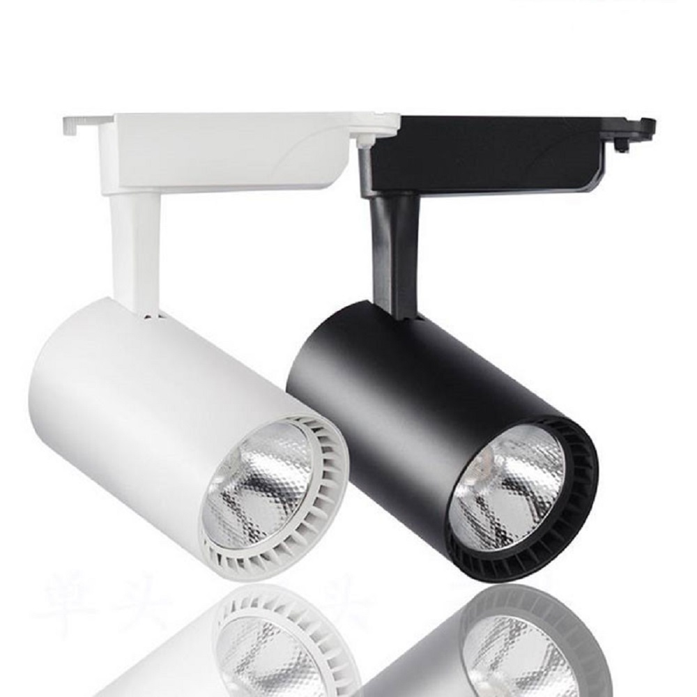 Industrial 12W/20W/30W COB LED Track Light Led Rail Lamp Leds Spotlights Iluminacao Lighting Fixture For Shop Store Spot