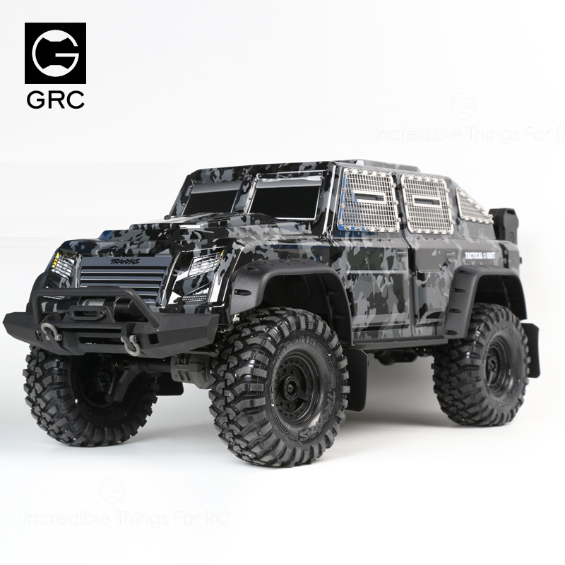 Stainless Steel Fence Windows mesh specialize FOR 1/10 TRAXXAS TRX4 TACTICAL UNIT crawler car trx tactical t3