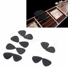 New Arrival 12Pcs Black Guitar Picks Celluloid The Guitar Pick Size 0.71mm Music Instrument