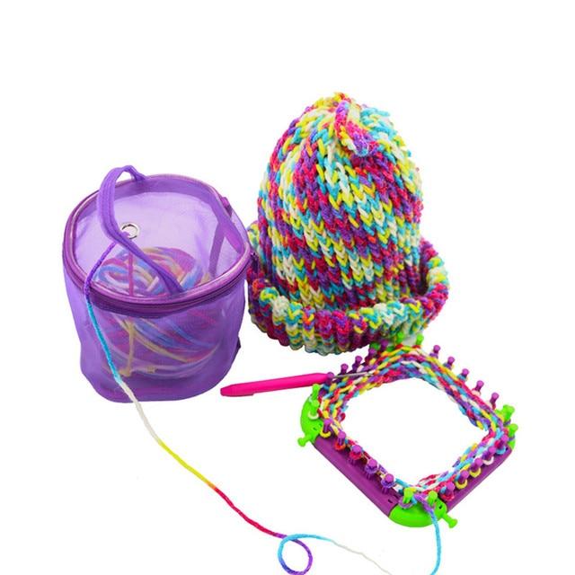 Fios de Tricô Malha Saco De Armazenamento Saco Kit de Costura Portátil Leve Fio De Crochê Fio De Armazenamento Organizador Tote 2018 Grande Capacidade