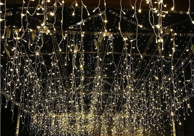 Generous 3*3m 300 Lights Led Curtain Lights Ledstrip Lantern String Christmas Lights Outdoor Party Decorative Lights 220v Rgb For Fast Shipping Lights & Lighting