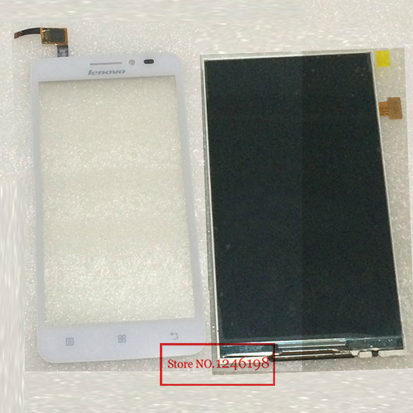 TOP Quality Outer Glass Panel Touch Sreen Digitizer + LCD Display For Lenovo A606 Replacement Free shipping + Track number