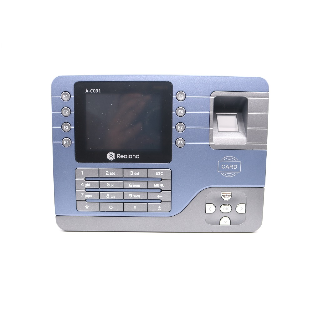 Biometric Fingerprint A-C091 fingerprint Time Attendance Time Recorder TCP/IP Linux system zk biometric fingerprint and rfid card time attendance tcp ip linux system time clock time recorder pt600 time and attendance