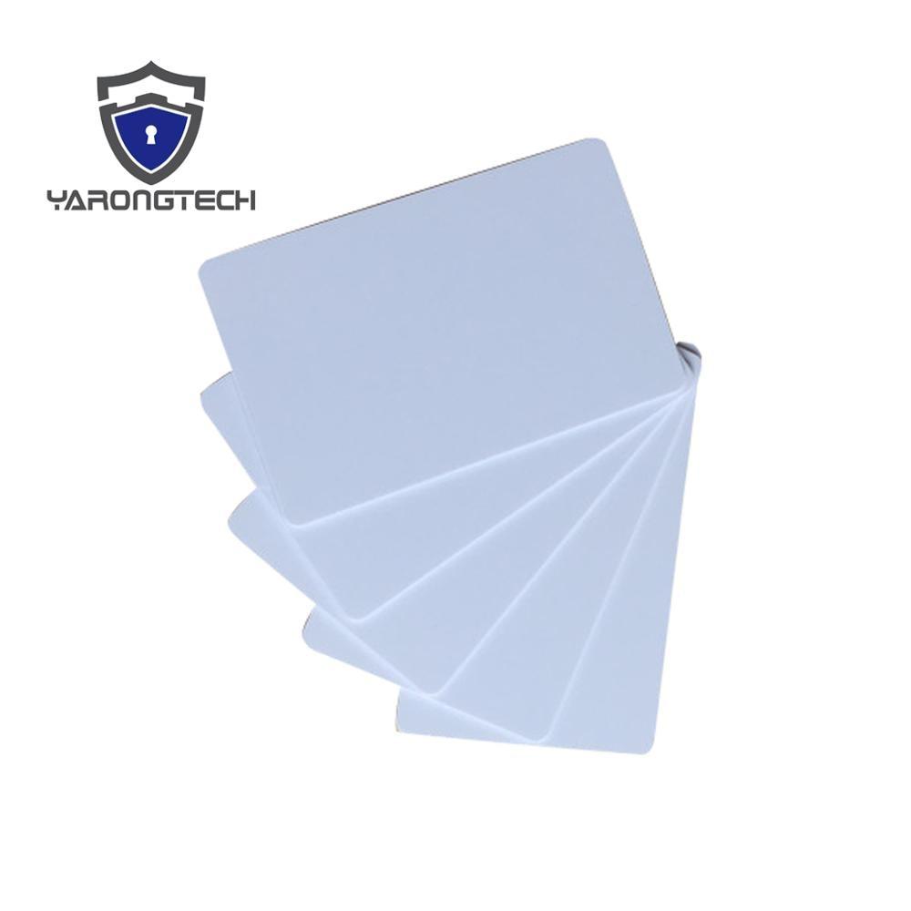 1000pcs T5577 Rewritable Pvc Blank Rfid Card 125KHZ Copy Card For Duplicator