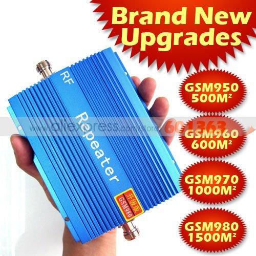1 pcs HOT!!! novo!!! 1500 metro quadrado trabalho, GSM repetidor, 900 Mhz booster, reforço de sinal GSM, GSM repetidor de sinal de reforço