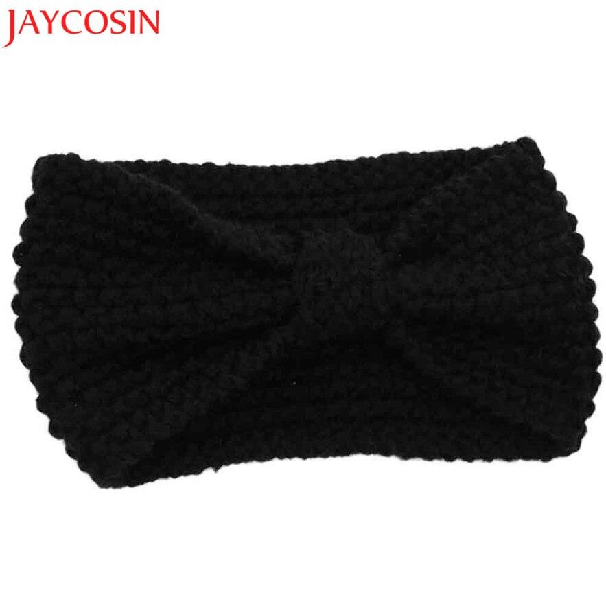 jan111 JAYCOSIN Fashion Winter Warm Women Crochet Knitted Braided Knit Wool Hat Cap Headband Hair Band Gift Dec 20 Drop Ship