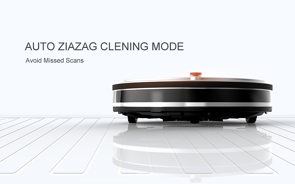 Pro Robot Vacuum Cleaner with Self-Charge Wet Mopping for Wood Floor (4)