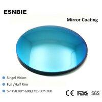 ESNBIE 1 56 Index Fashion Colored Lens For Eye Sunglasses Lenses Optical Lens Blue Green Eyeglass