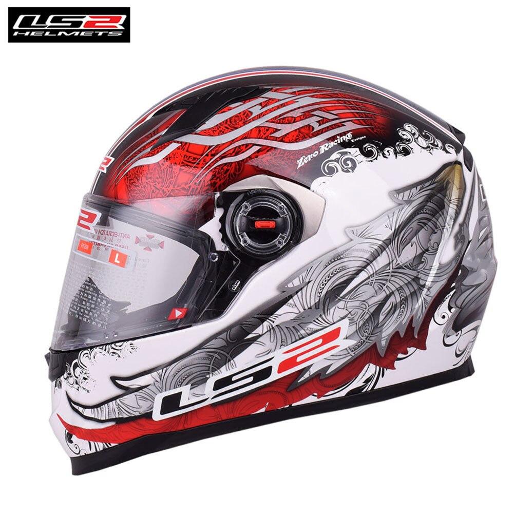 цена на New LS2 Full Face Motorcycle Helmet Capacete Casque Casco Moto Helm Kask Racing Helmets Crash For Kawasaki Motorsiklet Motor