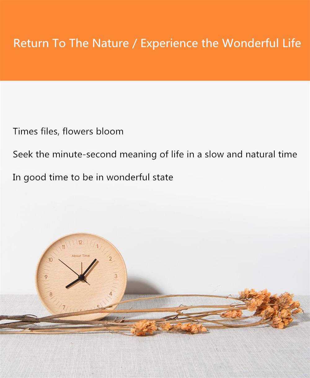 Xiaomi Mute Wooden Alarm Clock (7)
