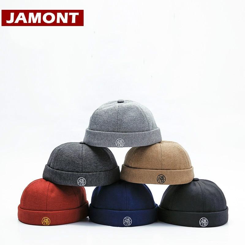 [JAMONT] 2018 Autumn Winter Hats Skullcap Men