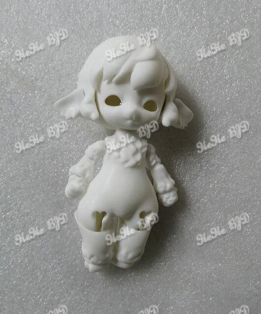Muñecas de palma 1/12 bjd, oveja pequeña, muñeca para niña, mascota, juguetes bjd, envío gratis