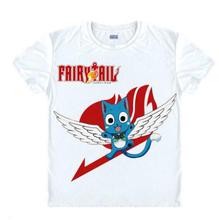 RTXBQU 2017 Rushed Limited Casual Broadcloth Cotton Bamboo Fiber O neck Japanese Anime Fairy Tail