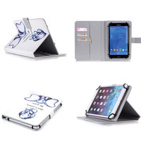 Fashion PU Leather Case Stand Universal 10 Android Tablet PC Cute Cover For Samsung Galaxy Tab