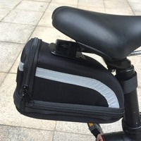 Bicycle Storage Package Rear Seat Saddle Tail Bag For Mini Xiaomi Mijia Qicycle EF1 Smart Electric