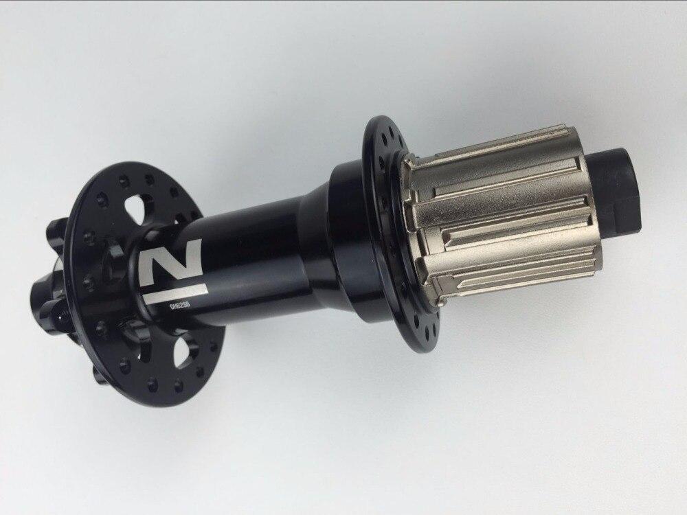 Novatek logo new - NOVATEC NEW LOGO 32H DH82SB MTB REAR HUB, MOUNTAIN BICYCLE DISC HUB, BLACK 12MM*157MM FOR DH/FR