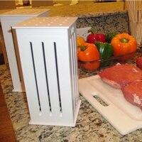 BBQ Kebab Maker Box with 16 Hole Skewers Brochette Beef Skewer Making Machine