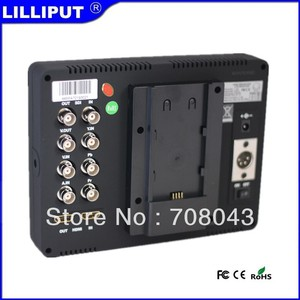 "Image 2 - Lilliput 7"" 665/S HD SDI Monitor on camera monitor SDI HDMI Composite YPbPr AV for BMCC DSLR HDV Peaking"