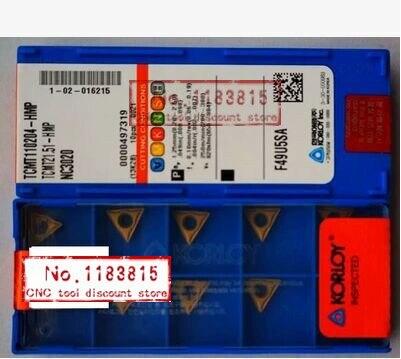 Freies einkaufen 10 STÜCKE TCMT110204-HMP NC3020 hartmetalleinsatz Einsatz STFCR/STUCR/STWCR verarbeitung stahl-legierung klinge