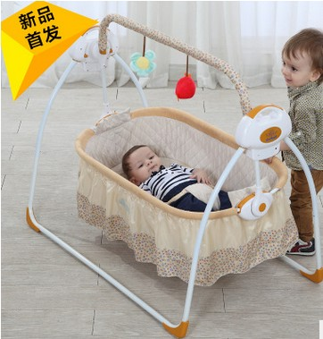 Electric electric shaker cradle baby shaker rocking chair electric carts babyruler sleep artifact baby rocking chair electric cradle swing baby newborn shaker