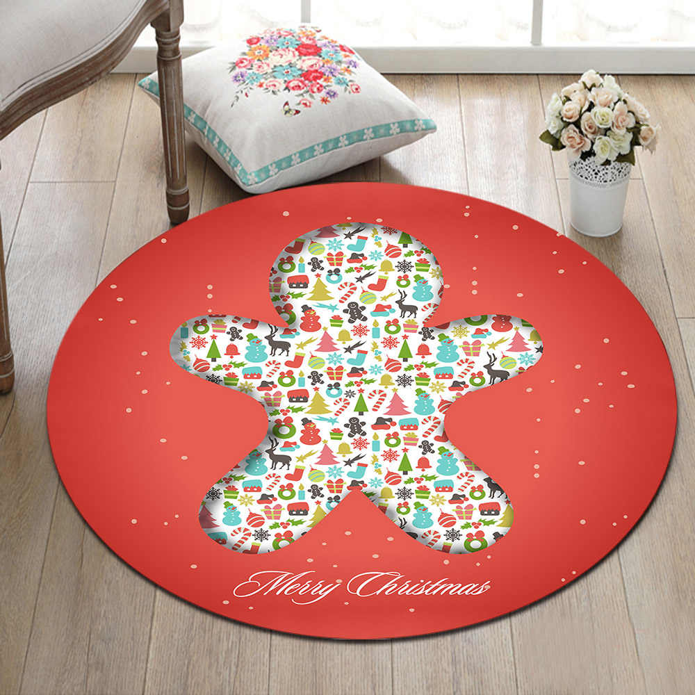 Round Carpet And Area Rug For Kids Baby