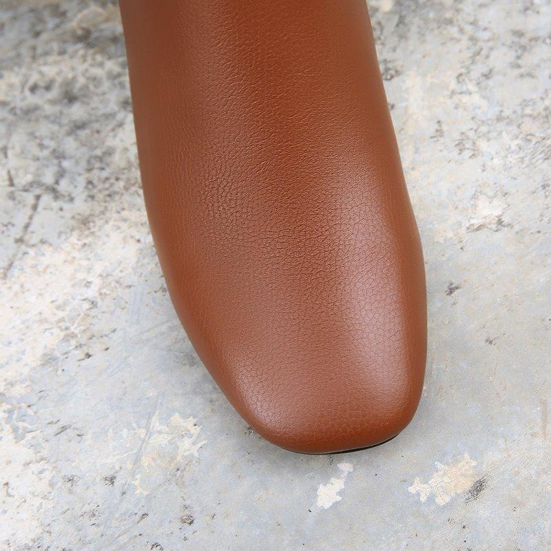 Femmes Talons Allbitefo New Hauts Filles Bottes Inside Hiver Cheville Inside Chaussures Cuir Neige Offre Véritable Spéciale no Inside Épais plush Plush Talon qrwxYqBp