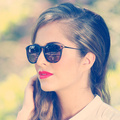 Óculos de sol das mulheres designer de marca de luxo 2017 new oculos lunette óculos de sol da moda para as mulheres do sexo feminino gradiente lente shades ladies