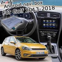 Boîte de navigation GPS Android pour Volkswagen Golf mk7 boîte d'interface vidéo android avec lien miroir youtube carplay par Lsailt