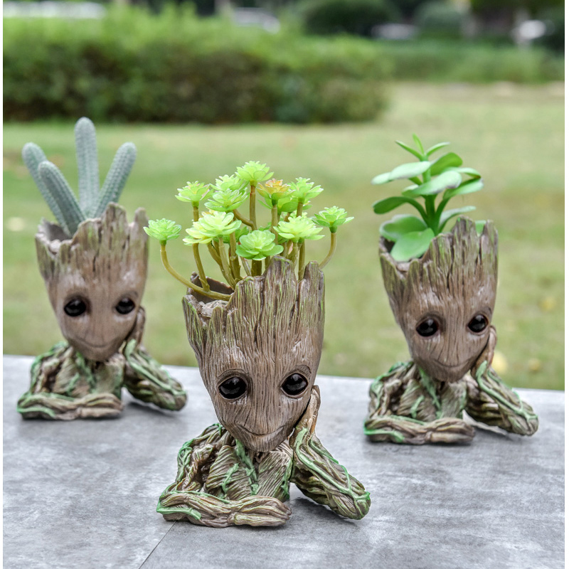 Baby Groot Flower Pot Suitable for Living Room Bed Room and study Room for Full Greenery in House 11