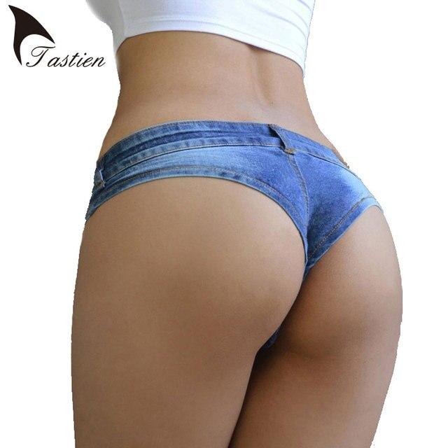 Aliexpress.com : Buy TASTIEN Brand Womens Sexy Super Short Denim ...