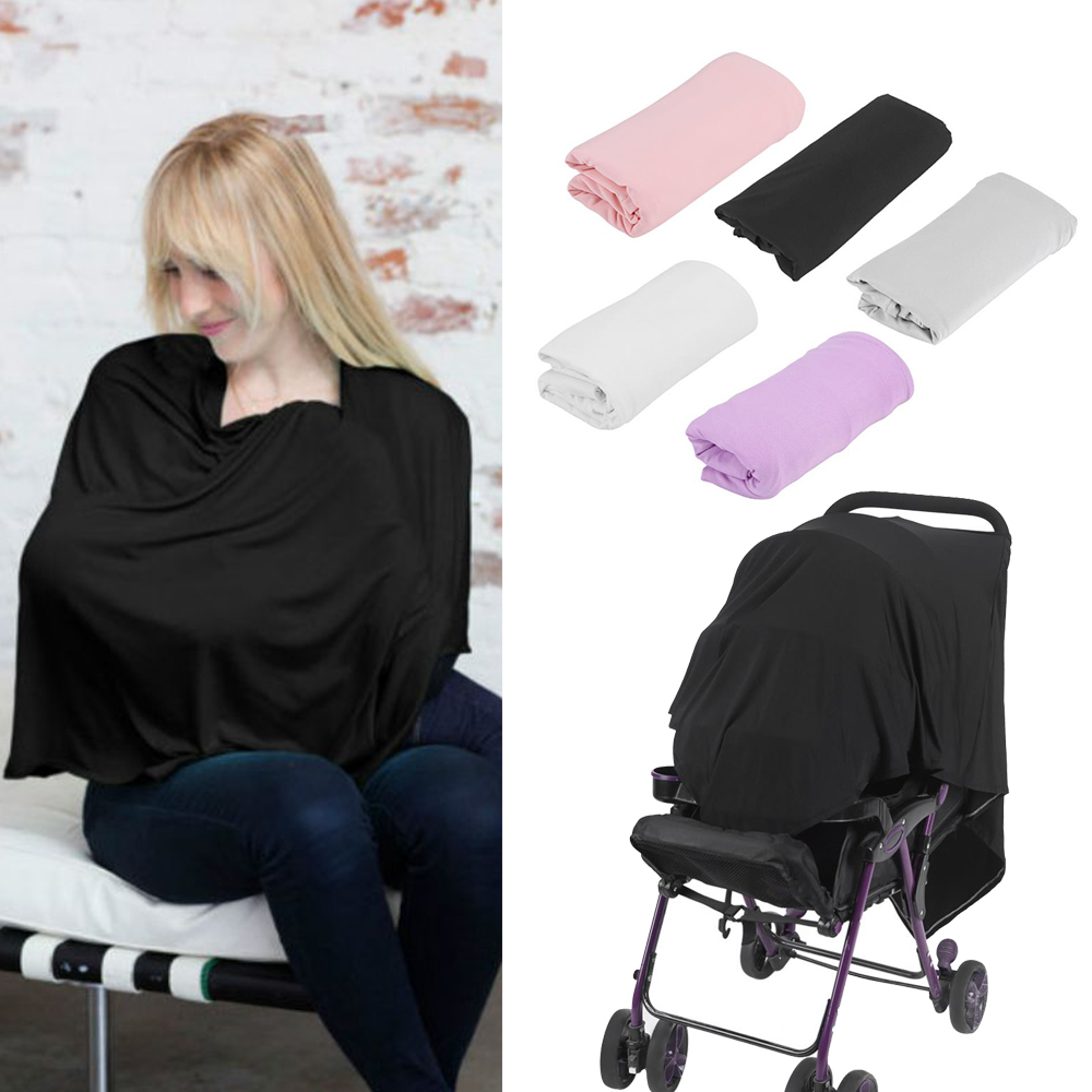Maternity Breastfeeding Cover 5 Color Nursing Covers Solid Shawl Breast Feeding Nursing Covers Baby Feeding Care Cover 2018 New