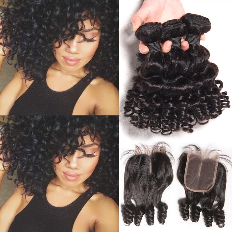 8a Short Weave With Closure Brazilian Virgin Hair Bob