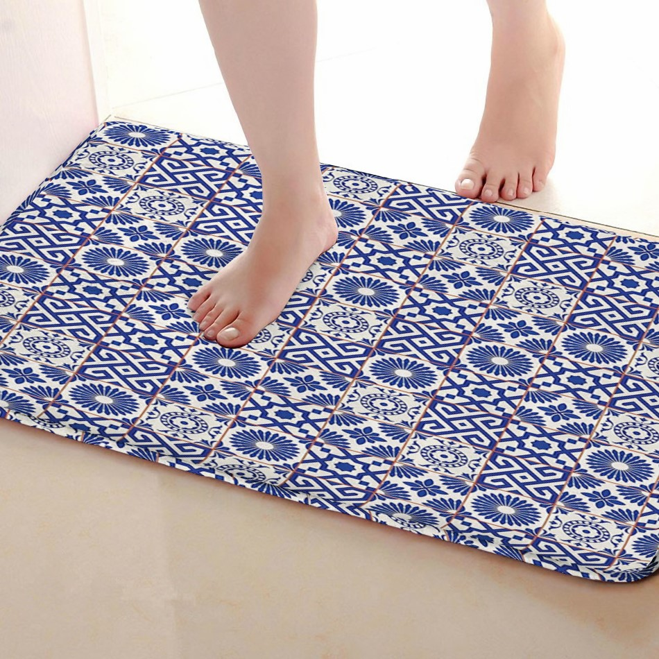 Stripe Style Bathroom Mat,Funny Anti skid Bath Mat,Shower Curtains Accessories,Matching  ...