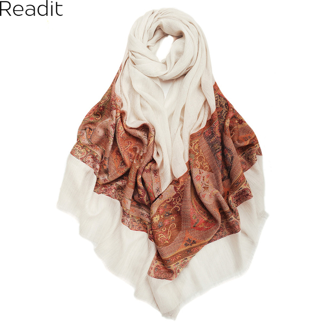 Brand New Cashmere Scarf Long Fashion Casual Warm Shawl Scarf Cashew Printed Women Cashmere Scarves Super Large Pashmina SC1460