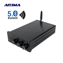 AIYIMA TPA3255 Bluetooth 5.0 Subwoofer Amplifiers 150Wx2+325W 2.1 Digital Power Amplifier Speaker Amp Home Sound Amplificador