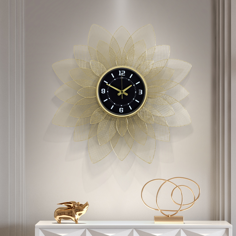 70cm Nordic Clock Wall Clock Modern Design Mute Clock Restaurant Home Fashion Decorative Quartz Clock Big Clock On The Wall