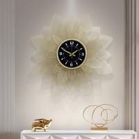 70cm Nordic clock wall clock modern design mute clock restaurant home fashion decorative quartz clock big clock on the wall