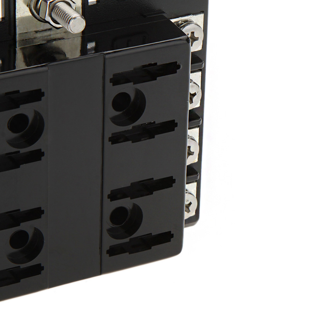 way circuit car style fuse box waterproof dustproof v dc blade 8 way circuit car style fuse box waterproof dustproof 32v dc blade car fuse box block 0 25a auto car fuse holder boat for cars in fuses from automobiles