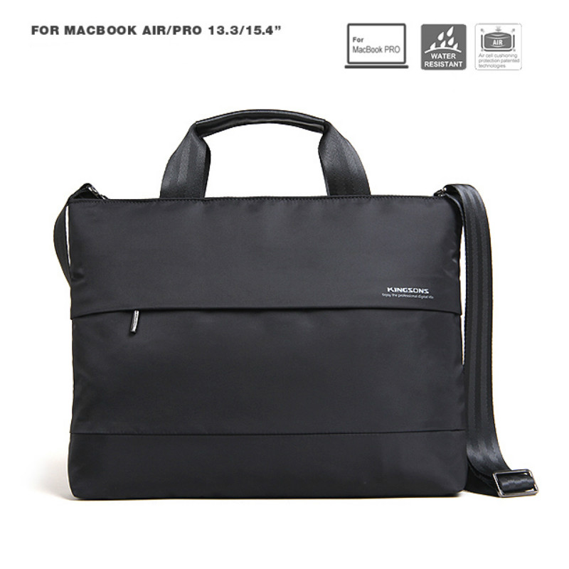 Newest Shockproof Notebook Bag 13 15 inch Black Laptop Computer Bag Men Women Shoulder Messenger Bags Business Bag Briefcase jacodel business large crossbody 15 6 inch laptop briefcase for men handbag for notebook 15 laptop bag shoulder bag for student
