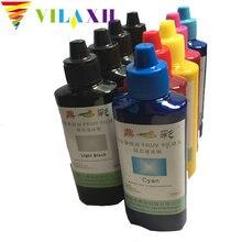 Vilaxh 9 Color 100 ML/Bottle Universal pigment ink for Epson SureColor P600 P800 Stylus Pro 3800 3880 Printer Refill Pigment