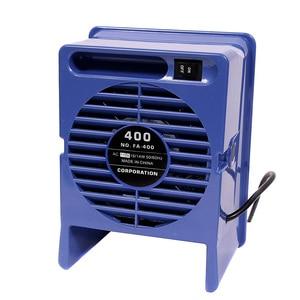 Image 4 - Absorbeur de fumée en fer à souder 220V/110V, extracteur de fumée ESD, Instrument de fumée avec 10 éponges de filtre à charbon actif gratuites