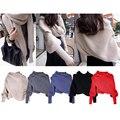 Winter Magic Scarf For Women Knit Crochet Wool Foulard Poncho Shawl Black Snood Luxury Multifunction Ladies Scarves MF369854